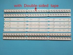 Image 2 - Nowy zestaw 8 sztuk 5LED 428mm listwa oświetleniowa LED dla TV 40VLE6520BL SAMSUNG_2013ARC40_3228N1 40 LB M520 40VLE4421BF