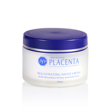 JYP Sheep Placenta Rejuvenating Night Cream Moisturizing Lanolin Face Reduce Wrinkle Anti-aging Skin Firmness Elasticity