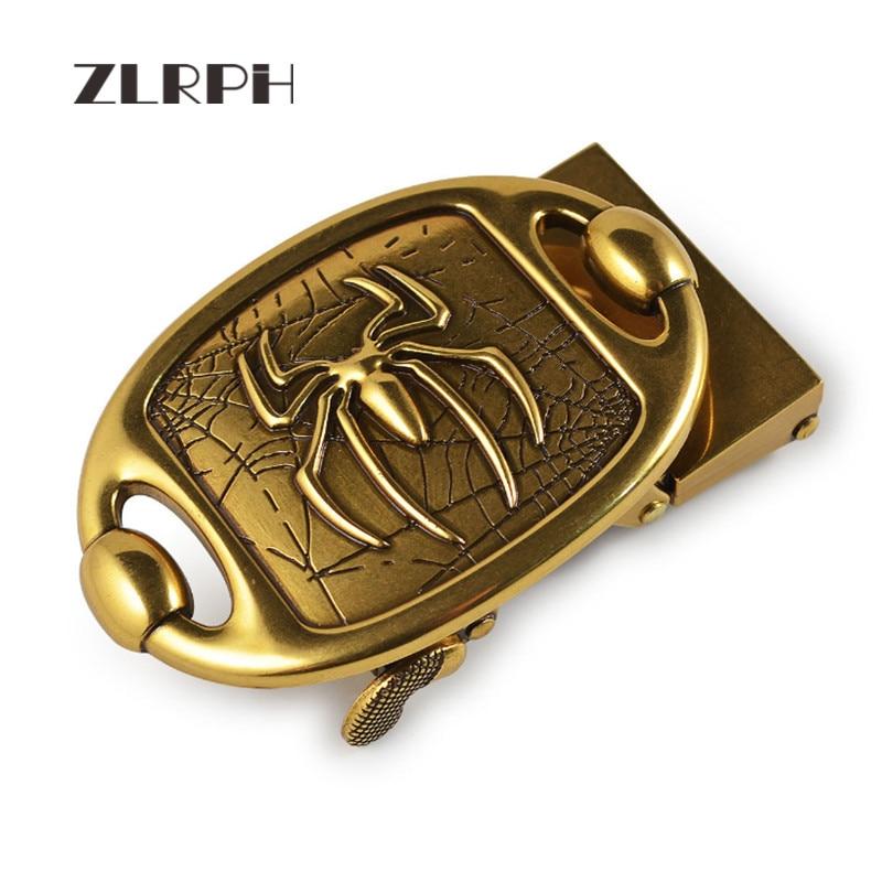 ZLRPH High-grade Retro Alloy Automatic Buckle Antique Buckle Belt Accessories Men's Belt Buckle Manufacturers Wholesale