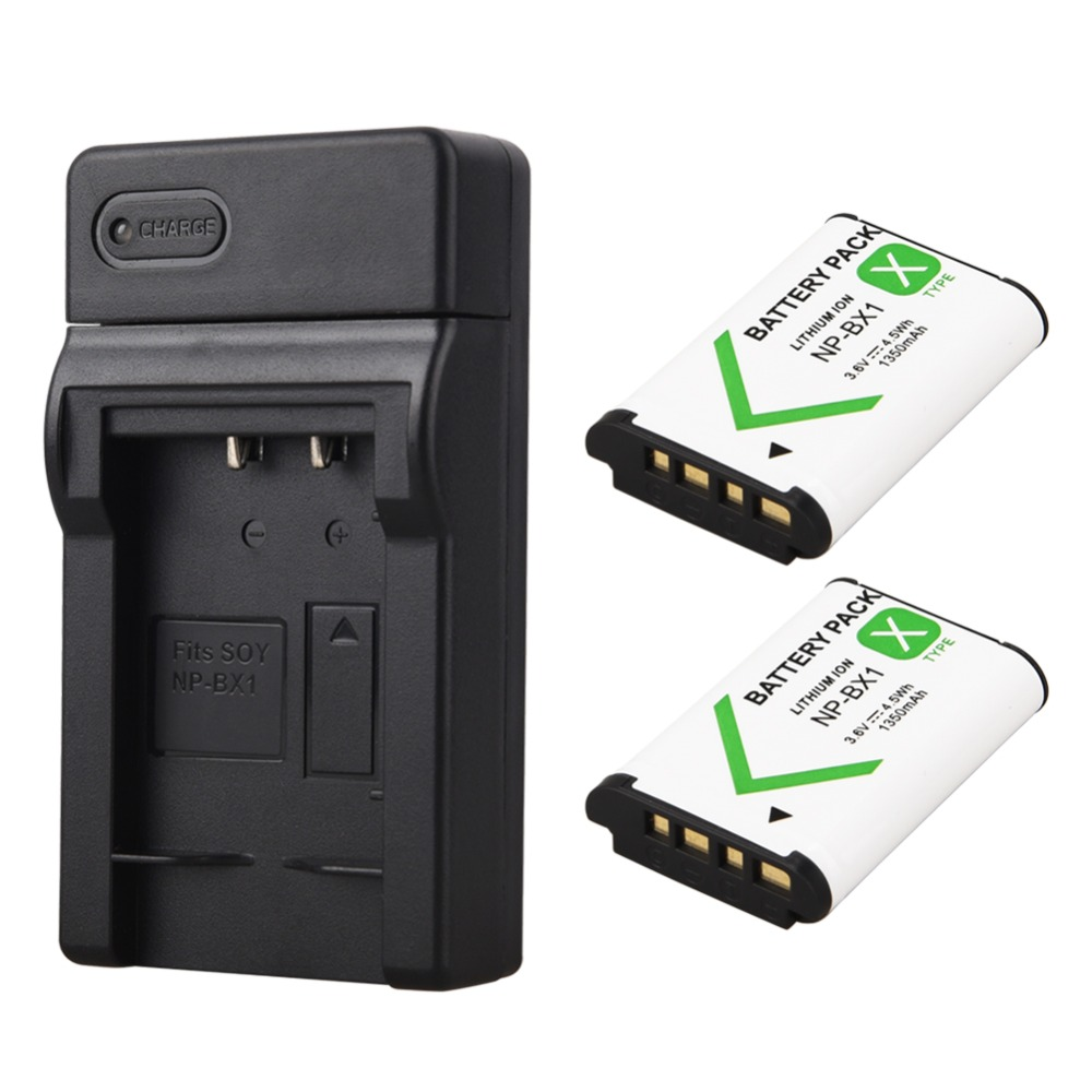 2x 1350mAh NP-BX1 NP BX1 Battery+USB Charger for Sony DSC RX1 RX100 M3 M2 RX1R GWP88 PJ240E AS15 WX350 WX300 HX300 HX400 Bateria2x 1350mAh NP-BX1 NP BX1 Battery+USB Charger for Sony DSC RX1 RX100 M3 M2 RX1R GWP88 PJ240E AS15 WX350 WX300 HX300 HX400 Bateria