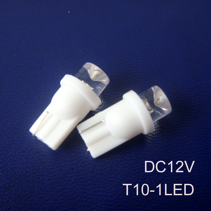 High quality 12v led indicator lights 158,168,194,912,W5W,W3W,E1 W6i,501,T10 wedge Car Led bulbs free shipping 10pcs/lot