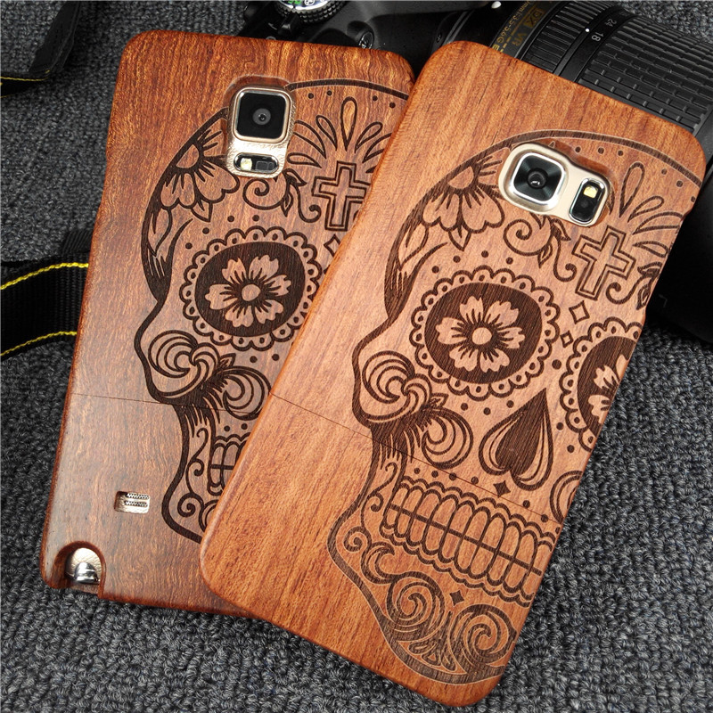 size 40 820b1 89939 For Samsung galaxy S6 S7 wood back cover custom made wood phone case ...