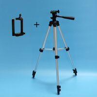NIERBO T680 Tripod Aluminum With 3 Way 35cm 105cm Universal Camera Tripod For DSLR Camera And