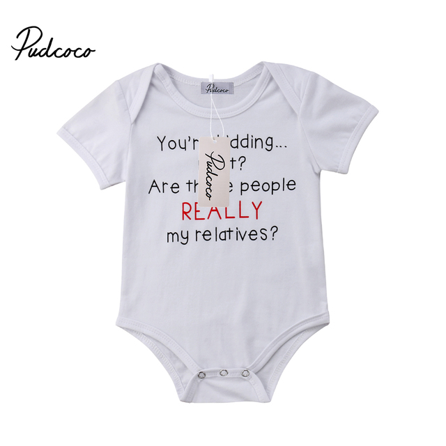 5b270e602636 2018 Brand New Infant Toddler Newborn Baby Boys Girls Romper Jumpsuit  Cotton Clothes Outfits