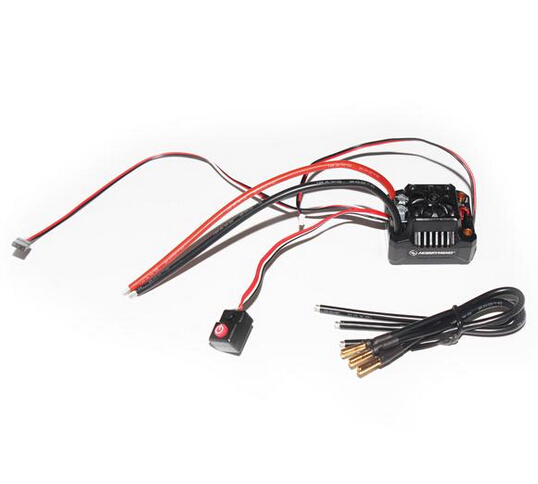 Hobbywing EZRUN MAX10 SCT BEC Waterproof 2-4S Speed Controller Brushless ESC for 1/10 RC Car Truck F17812