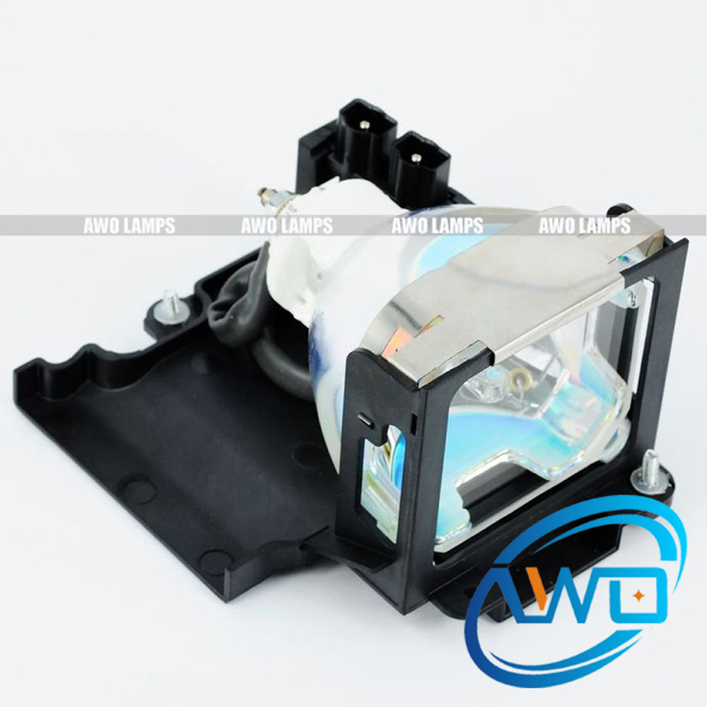 AWO Replacement Projector Lamp Module VLT-XL1LP for MITSUBISHI LVP-HC1/HC2/SL1/SL1U/SL2/SL2U/XL1/XL1U awo sp lamp 016 replacement projector lamp compatible module for infocus lp850 lp860 ask c450 c460 proxima dp8500x