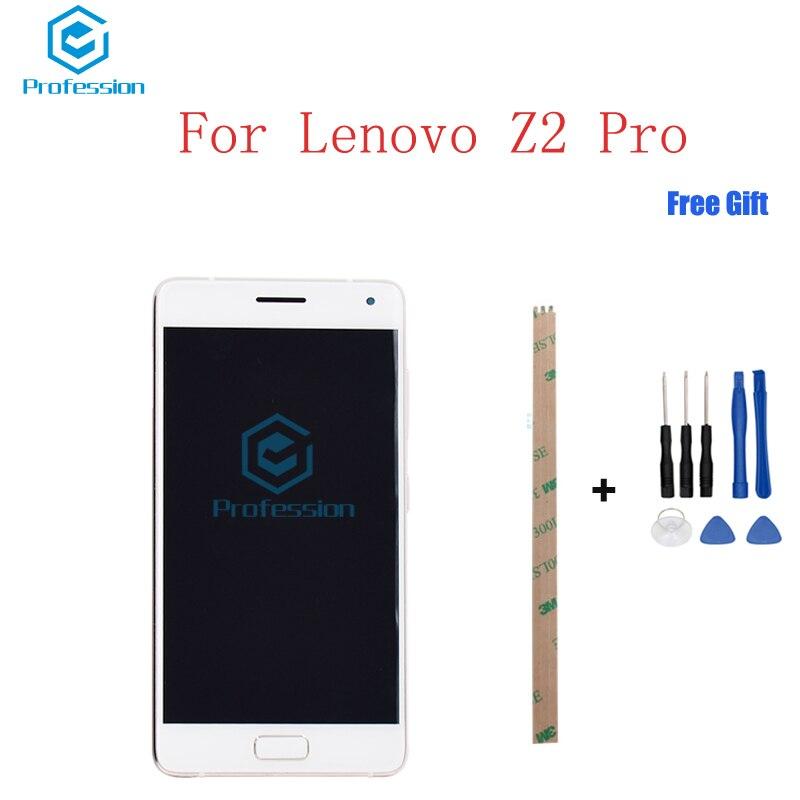 5.2 Pour Original Pour Lenovo ZUK Z2 Pro Écran LCD Affichage et Écran Tactile Digitizer Assemblée Rempl Outils de ciment + adhésif stock