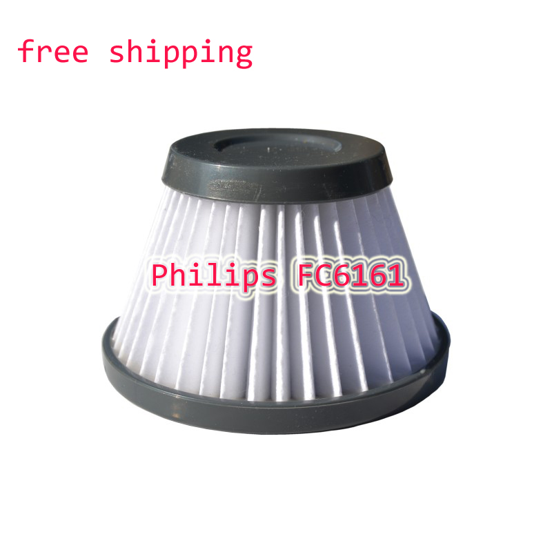 hand held vacuum cleaner hepa filter strainer filter element for Philips FC6161 cleaner parts accessories vacuum cleaner parts hepa filter fc6161 filter smoke particles pollen dust