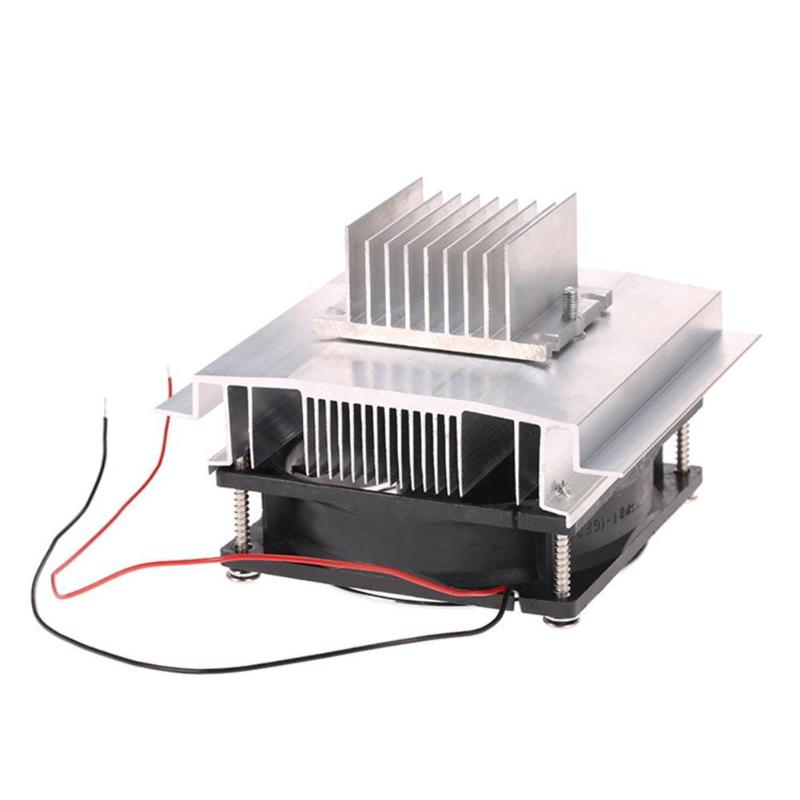 ALLOYSEED DIY Cooling Set 12v Electronic Refrigerator Semiconductor Thermoelectric Cooler Dehumidifier Element Cooling Module c1204 4p1540 15 20 30 40mm 12v 4a 48w 4 layer semiconductor cooler 4 layer semiconductor subzero freezing thermoelectric cooler