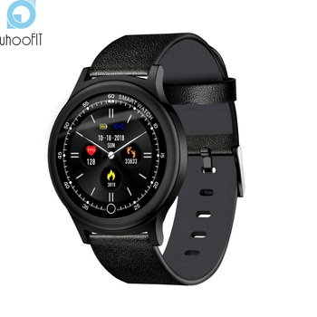 Uhoofit IP68 Waterproof Passometer Smart Watch For IOS/Android