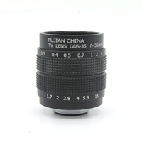 CCTV 35mm F1 7 Lens C Mount For Sony NEX 5 NEX 3 NEX 7 NEX