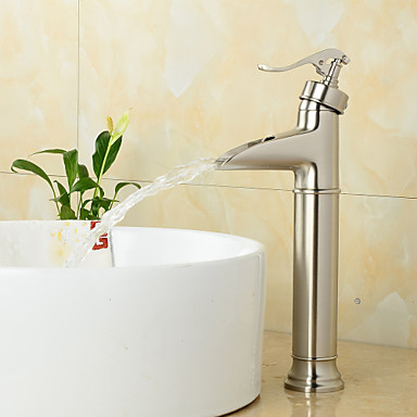 High-quality Polished Nickel Heightening Silver Bathroom Sink Basin Faucets Water Tap Torneira Para De Banheiro Robinet