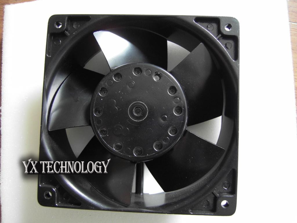 Brand new original Cabinet axial fan 4E-230B 230V high temperature cooling fan 120*120*38mm original papst typ 4650n ac 230v 12cm 120mm 120 120 38mm cae axial cooling fan