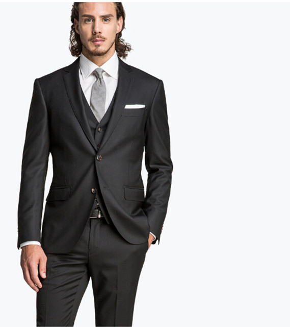 Man suit made comfortable fashion wedding wear three piece suit ...