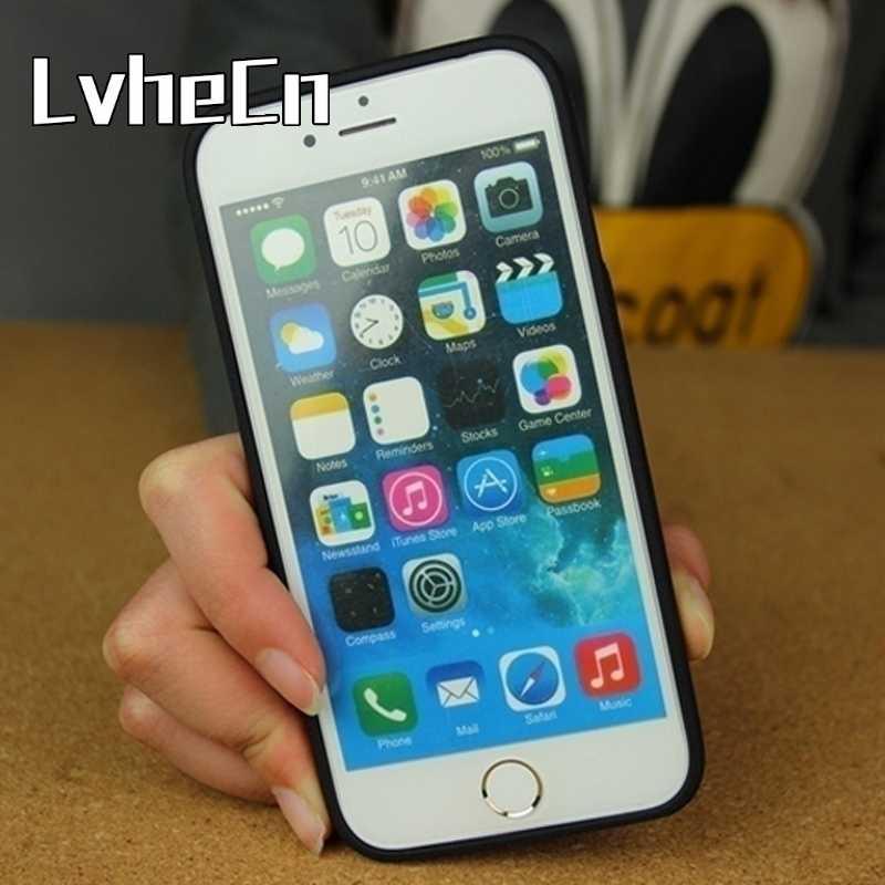 VARAS de PESCA DA CARPA LvheCn PELO LAGO Macio Tampa da Caixa Do Telefone Móvel Para iPhone5s 6 6 s 7 8 plus X samsung Galaxy S6 S7 borda S8 S9 note8