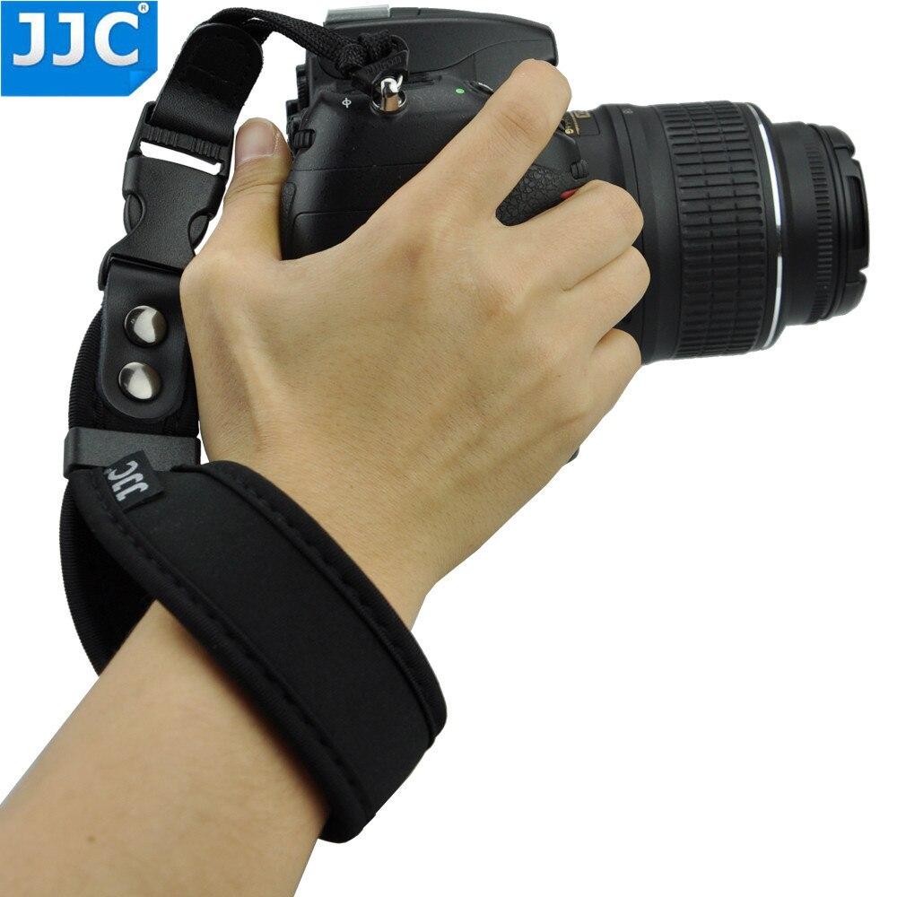 JJC Wrist Strap for Canon 750D 700D 650D 600D 550D 7D 6D 70D 60D 5D2 5D3 7D2 for Nikon D750 D5300 D5200 D3300 D3200 D5100 D3100