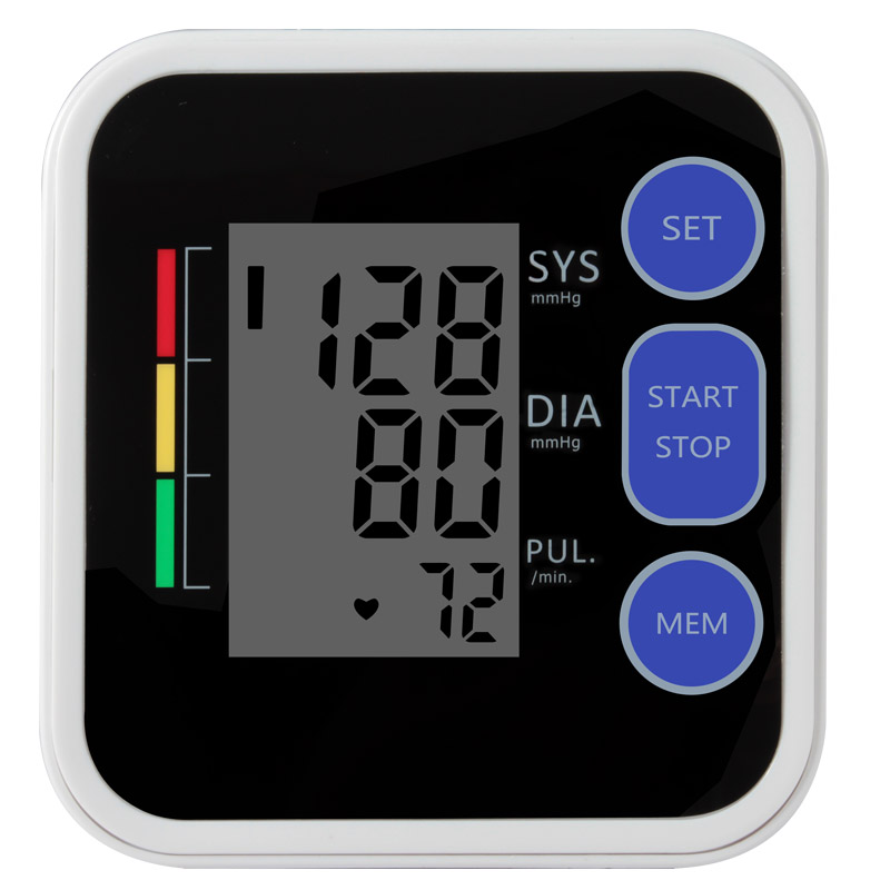 1pcs Cigii Blood Pressure Meter With Voice Broadcast Function For Measuring Blood Pressure 1