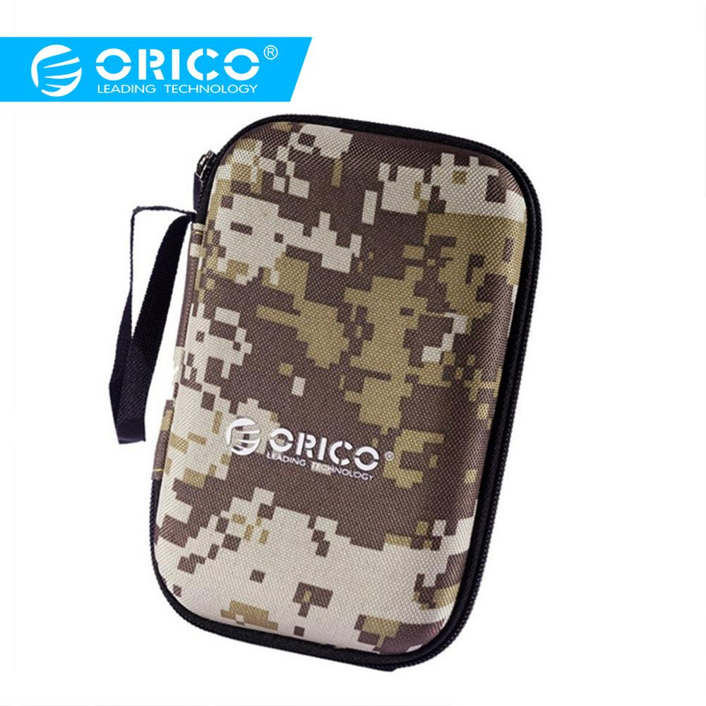 ORICO 2.5 Inch HDD Protection Bag Box For External Storage USB Hard Drive Disk HDD Power Bank Cable Case For Hard Drive Disk Bag