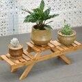Bambou plante fleur étagère Stand fleur Pot support étagères jardin salon Table planteur présentoir décor à la maison intérieur extérieur