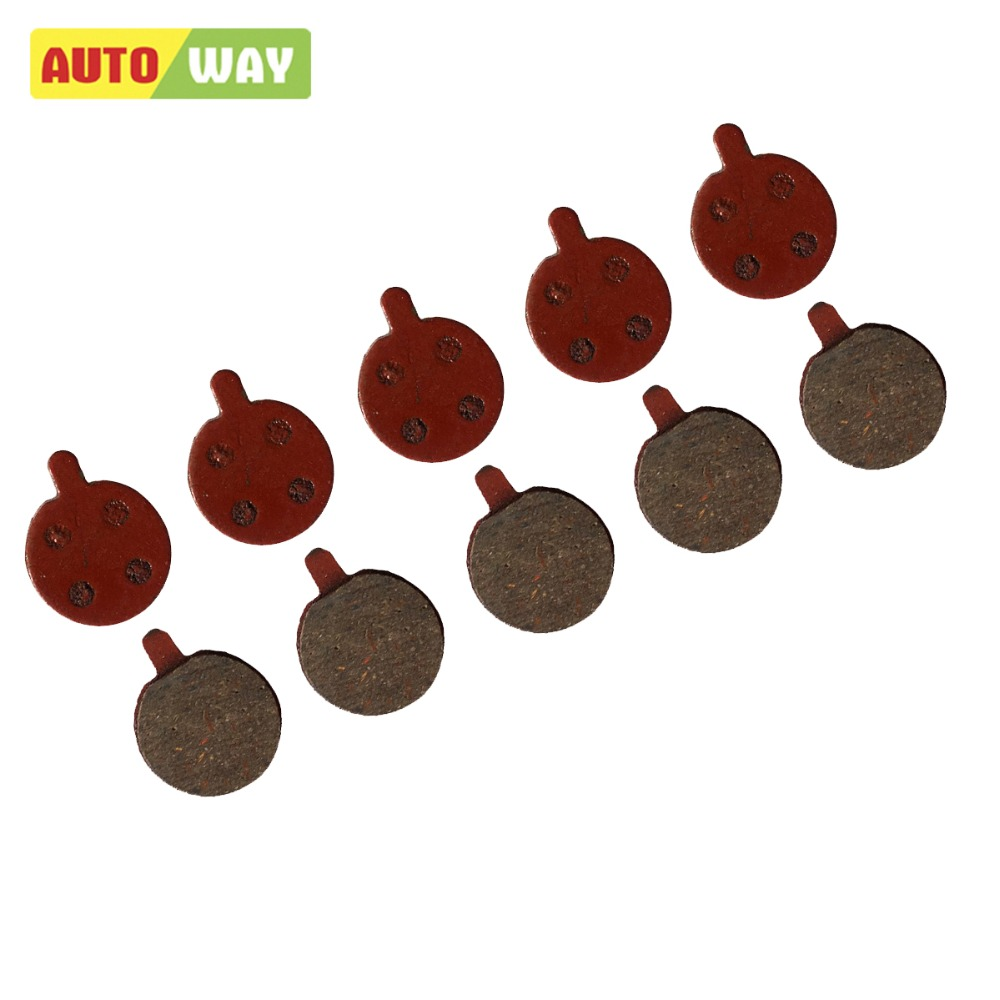 Autoway Disc Brake Pads for ZOOM DB 280 DB 550 DB450 DB350 ONE Disc Brake,  5Pairs/ORD, Free Postage, Black RESIN