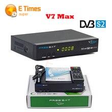 FREESAT V7 Max Receptor de Satélite 1080 P Full HD DVB-S2 Soporte USB PVR Listo y USB wifi DVB-S2 Tuner para Compartir la Red TV caja