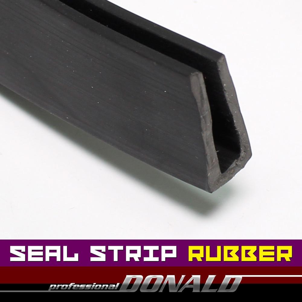 22mmx10mm Flexible Window Door Quarter Panel Seal U