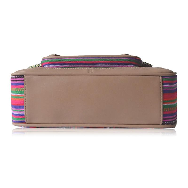 vintage bolsa 2 cores estilo boêmio bolsa