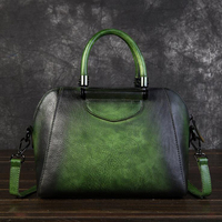 Genuine Leather Bags for Women Ladies Fashion Handbag Retro Large Capacity Shoulder Bag High Quality 100% Cow Leather Tote