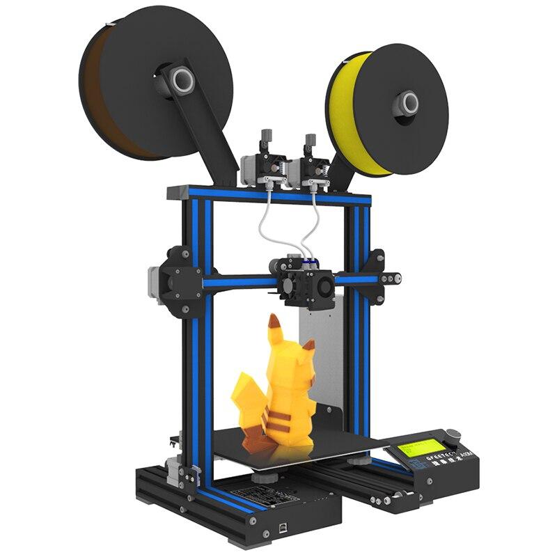 D'origine Geeetech A10M Mélanger-couleur 3D Imprimante 220x220x260mm avec une option 3D wifi module facile Et Opération Commode - 4
