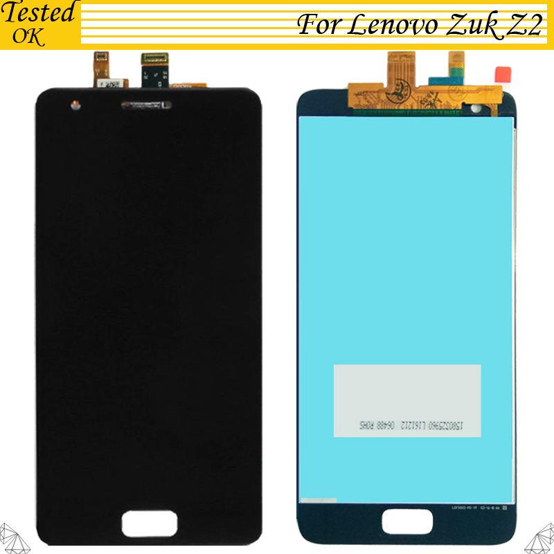 For Lenovo ZUK Z2 LCD Display and Touch Screen Digitizer 100 Tested Working Assembly Replacement For