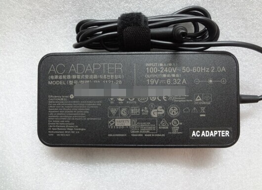 NEW Slim 120W 19V 6.32A Original Genuine AC/DC Adapter Supply for ASUS N550JV-DB71-CA PA-1121-28 N120W-02 Laptop PC ADP-120RH B asus laptop adapter 19v 6 32a 120w 5 5 2 5 pa 1121 28 ac power charger for asus n750 n500 g50 n53s n55 laptop