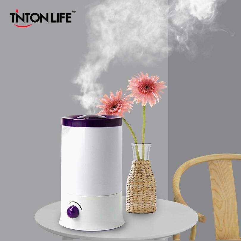 TINTON VIE 2.4L Ménage Minimaliste Zéro Rayonnement Ultra Calme Aromathérapie Diffuseur Humidificateur D'air Mist Maker Fogger