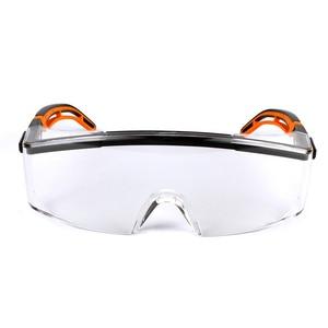 Image 5 - UVEX מגן משקפיים בטיחות משקפי מגן שקוף נגד ערפל נגד השפעה Eyewear עבודת רכיבה נגד חול משקפי עין הגנה
