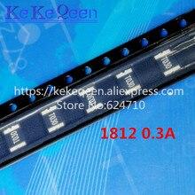 100PCS PTC FUSE MSMD030-60V 1812 0.3A 300MA 60V SMT SMD PPTC SMD1812 Resettable Fuses 50pcs mf msmf050 2 mf msmf050 ptc resettable fuse 0 5a 500ma 15v for bourns 1812
