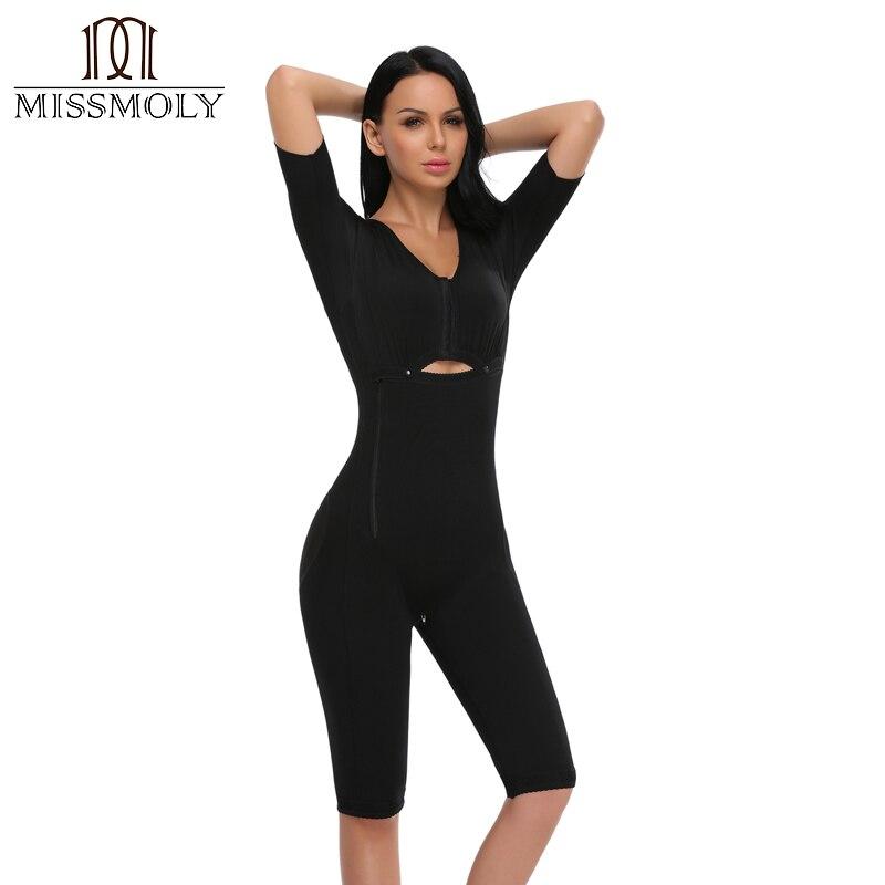 Delle donne Che Dimagrisce Tuta Completa Shapewear Placenta Del Ventre Fasciatura Intimo Dopo Il Parto Mutandine e boxer Fajas Postparto Vestiti