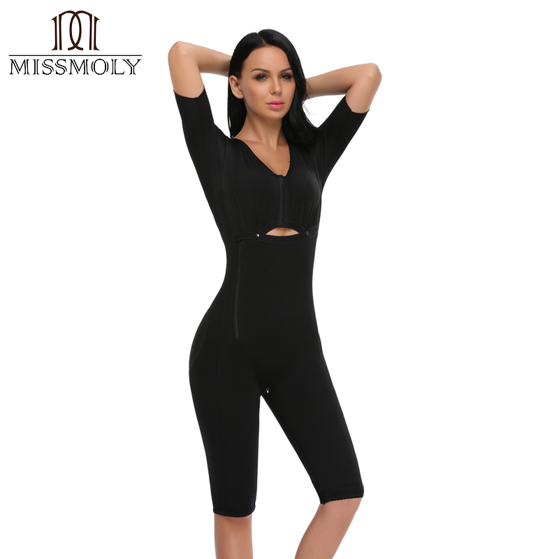 Women Slimming Full Bodysuit Shapewear Afterbirth Belly Bandage Intimates Postpartum Panties Fajas Postparto Clothes in Bodysuits from Underwear Sleepwears