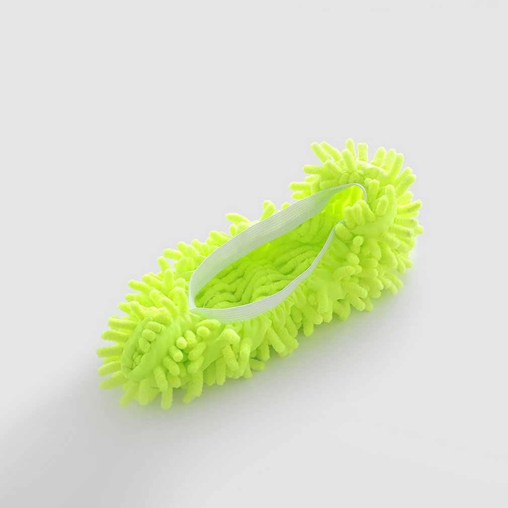 متعددة الوظائف الغبار منفضة ممسحة أحذية مفتوحة غطاء قابل للغسل قابلة لإعادة الاستخدام ستوكات القدم الجوارب أدوات تنظيف الأرضيات غطاء حذاء
