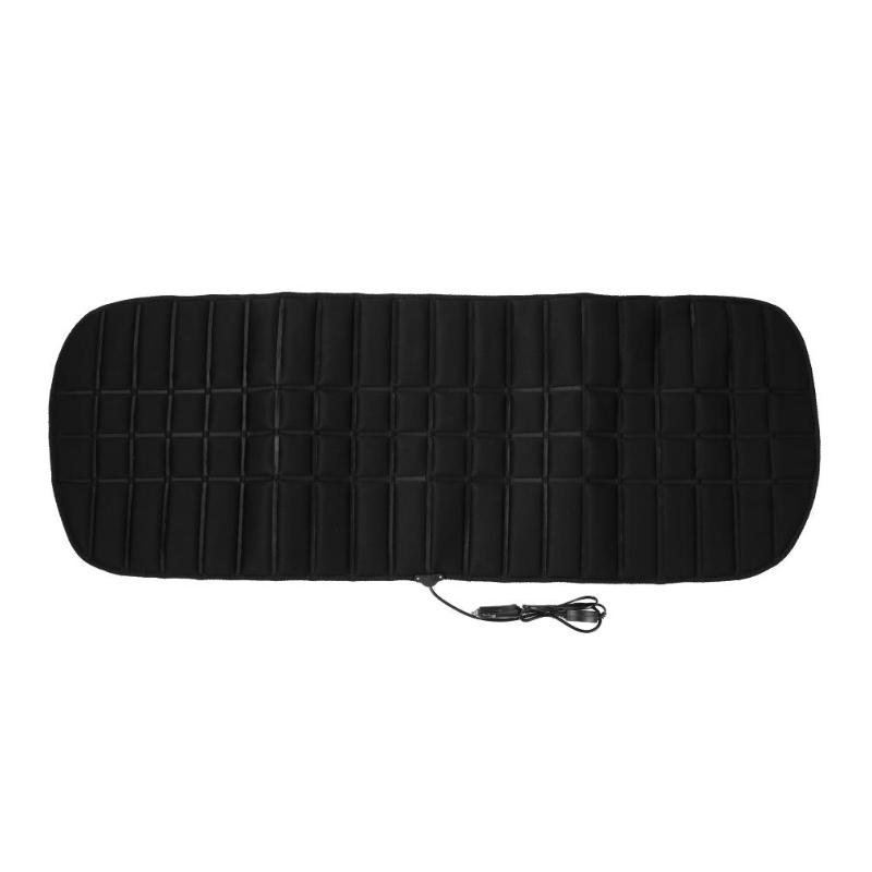 Universal Car DC12V Powered Rear Back Row Seat Winter Warming Keeping Seat Cushion Pad Thermostat Truck Heated Seat