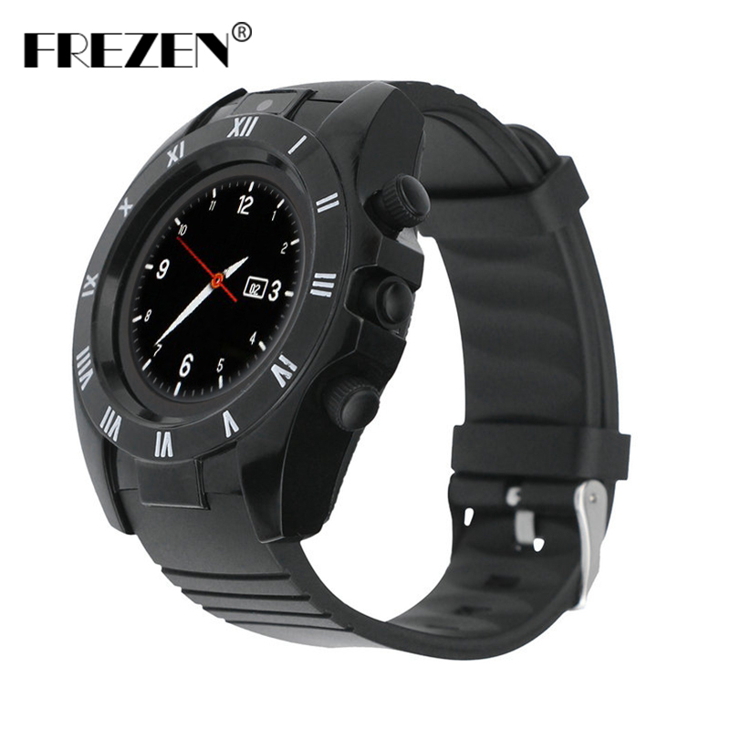 FREZEN Fashion S5 WristWatch Bluetooth Smart Watch Sport Pedometer with SIM Camera Smartwatch for Android Smartphone Hot Sale meanit m5