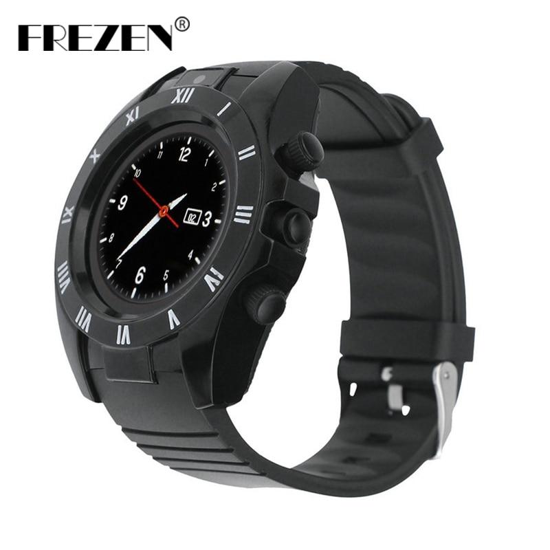 FREZEN S5 Horloge Bluetooth Smart Horloge Sport Stappenteller Met SIM TF Camera Smartwatch Voor Android Telefoon PK GT08 U8 DZ09 V8 Y1