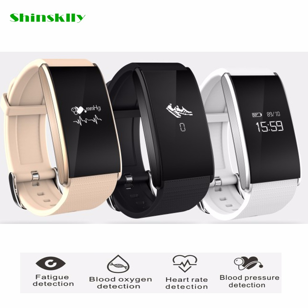 Original B13 Smartband Blood Pressure Bluetooth Smart Bracelet Heart Rate Monitor Smart Wristband Fitness for Android