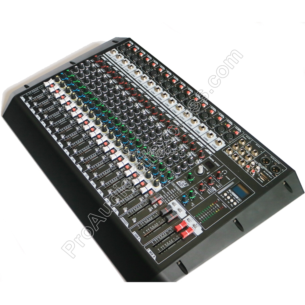 Tragbares Audio & Video Professionelle Yahama Es Audio 16 Kanal Mit 24bit Sound Effekte Studio Mixer Audio-dj Sound-controller Interf