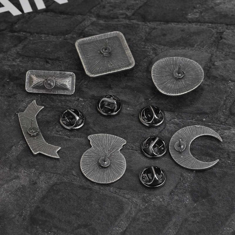 Festa Do dia das bruxas! Bruxa lua bola de cristal Esmalte pin de Lapela pinos Emblemas Botões Mulheres broches Bruxa Assistente de Presente Da Jóia para ela