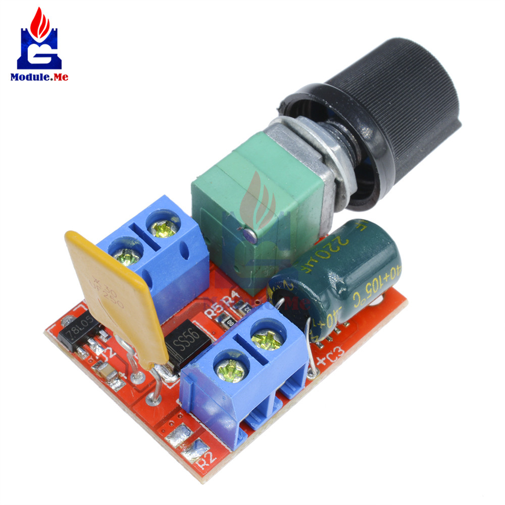 Mini 5a Pwm Max 90w Dc Motor Speed Controller Module 3v 35v Based Circuit Electronic Circuits Free Control Adjust Adjustable Switch Board Led Dimmer In Integrated From