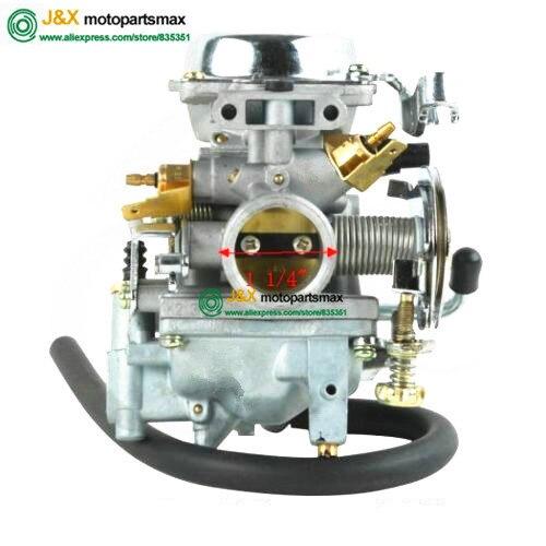 XV250 XV125 QJ250 XV 250 XV 125 Aluminum Carburetor Assy For Yamaha Virago 250 XV250 Route 66 1988-2014 2010 09 XV 250