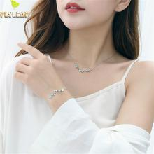 925 Sterling Silver Natural Moonstone Bracelets For Women Jewelry Set High Quality Big Dipper Necklaces & Pendants Fine