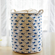 Синий кит хлопковая корзина для белья корзины букет карманных детских игрушек одежда корзина для белья органайзер для хранения ребенка