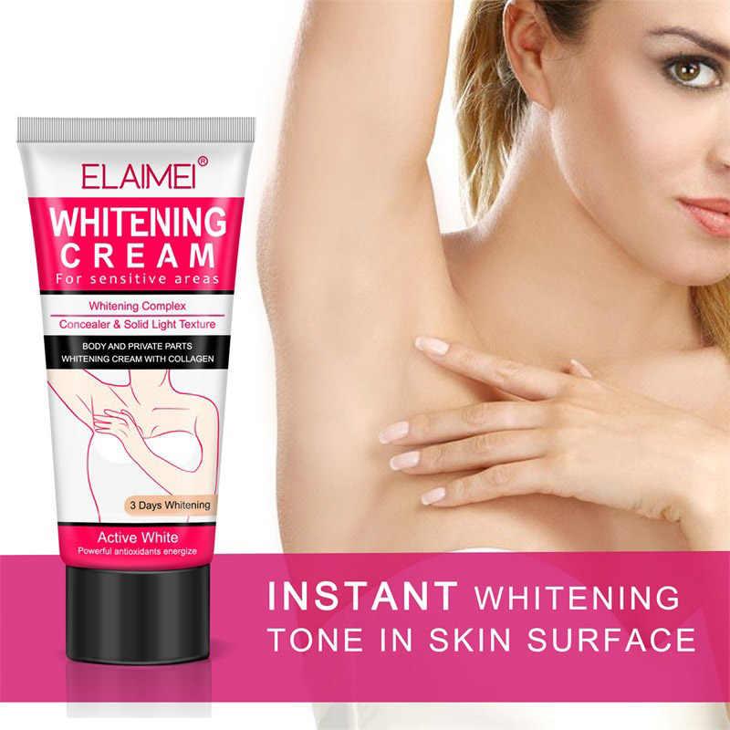 Crème blanchissante pour les aisselles 60 ml crème blanchissante éclaircissante déodorante pour les jambes des aisselles pièces privées SJ66