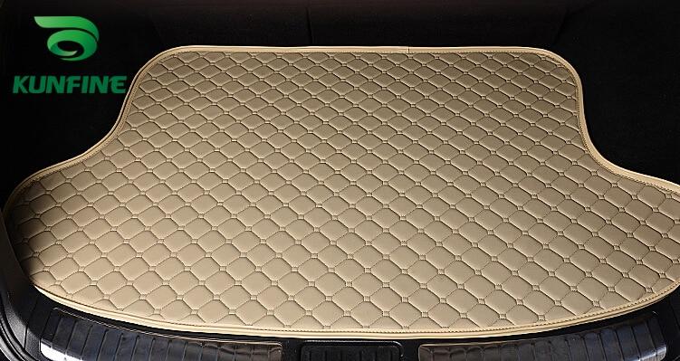 Car Styling Car Trunk Mats for Toyota HIGHLANDER Trunk Liner Carpet Floor Mats Tray Cargo Liner Waterproof 4 Colors Optional