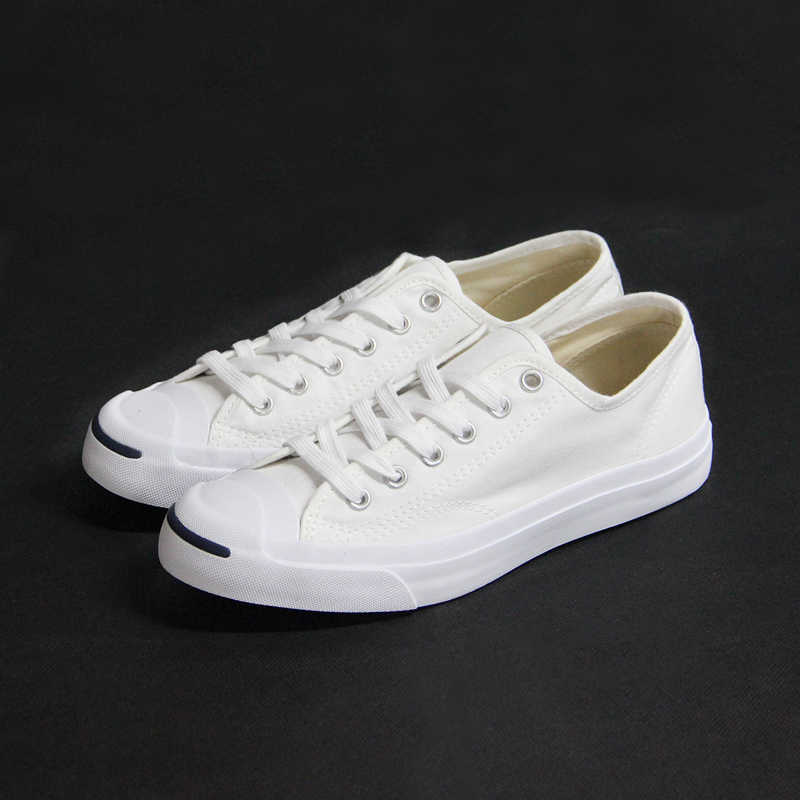 b23720e8a850 ... Original Converse Canvas smiling face style JACK PURCELL sneakers  Spring summer man and women Skateboarding Shoes